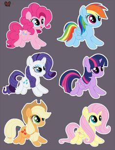 Mlp - stickers by xSatanielx on DeviantArt Festa Do My Little Pony, My Little Pony Costume, My Little Pony Unicorn, My Little Pony Twilight, Little Pony Cake, My Little Pony Birthday Party, My Little Pony Drawing, My Little Pony Printable, My Little Pony Stickers