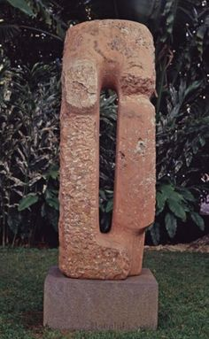 "Isamu Noguchi (Los Angeles 1904 - New York 1988) ""Red untitled"" 1965/66, Honolulu Museum of Art"