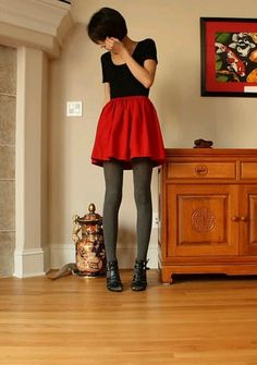 faldas rojas - Buscar con Google