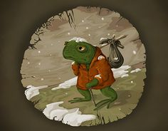 """Check out new work on my @Behance portfolio: """"Toad The Traveller"""" http://on.be.net/1KoccCN"""