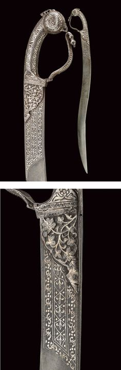 A rare sabre,dating: 19th Century provenance: India.