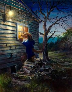 Lonely Dog The Woodshed