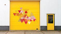 Exterior-Roller-Shutter Mayor Of London, Exterior Signage, Roller Shutters, More Fun, Foyer, Graphics, Inspiration, Kitchen, Design