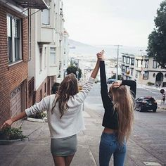 friends, girl, and bff-bild