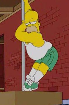 Homer Simpson #poledance #poledancing
