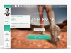 Fitness Web App: Sessions