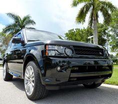 2010 Land Rover Range Rover Sport, Santorini Black #LandRoverPalmBeach #LandRover #RangeRover http://www.landroverpalmbeach.com/