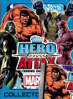 Marvel Hero Attax Avengers Series 2