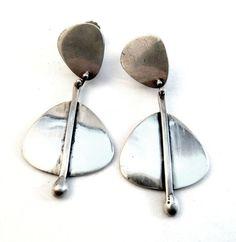 Henry Steig sterling earrings