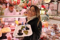 Sampling locally-grown olives