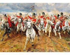 Puzzle Gibsons Batalla de Waterloo de 1000 Piezas