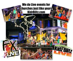 New collage of Kidz Blitz Live and FX Live pictures