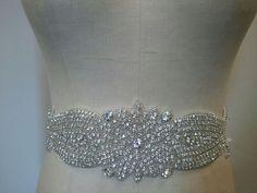 New Year SALE  Wedding Belt Bridal Belt Sash by LucyBridalBoutique, $49.00