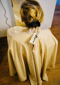 Full chair coverage cape Vegan Leather Hair Cape hair | Etsy Custom Capes, Pastel Yellow, Floral Hair, Barbershop, Paisley Print, Vegan Leather, My Hair, Etsy, Salons