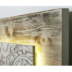 Cabecero Anai madera tallada con luz led Luz Led, Painting, Furniture, Home Decor, Framed Pictures, Wood Pictures, Garden Decorations, Wood Frames, Painted Wood Headboard