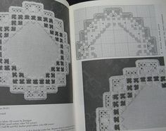 Stitch A Round In Hardanger Embroidery Pattern por TheHowlingHag