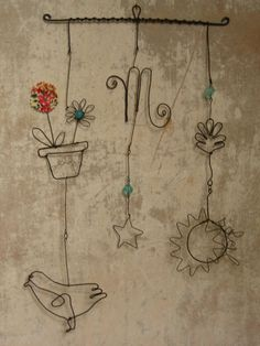 """beautiful """"things"""" made of wire"""