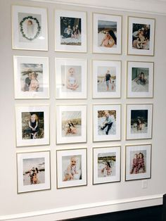 Fascinating Wall Gallery Ideas You Can Steal - A gallery wall can instantly elevate the style of any space in any room in your home. Gallery walls vary greatly, depending on the décor and taste of . Picture Frame Inspiration, Cute Picture Frames, Picture Frame Crafts, Picture Walls, Family Wall Decor, Entryway Wall Decor, Tv Decor, Elle Decor, Bedroom Decor