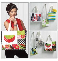 Totes and Bags Butterick Pattern 5659
