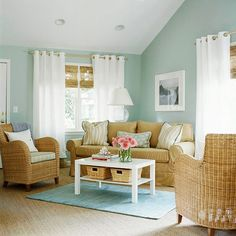 Living Room Colors For Light Furniture Interior Design