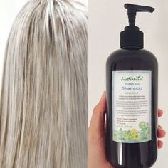 Natural formula. Sulfate free. Brightens gray, silver and white hair. Shiny, softer and more manageable beautiful hair. Loose the yellow and restore your radiance to reveal luminous fresh healthy strands.