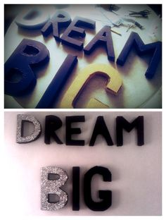 DIY Letters for bedroom #ideas #DIY #LETTERS