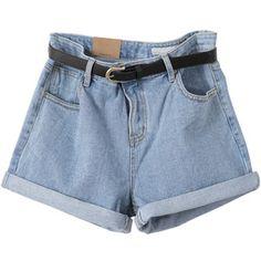 Nicki Denim shorts