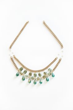 For the Makers: DIY St. Patricks Day Statement Necklace
