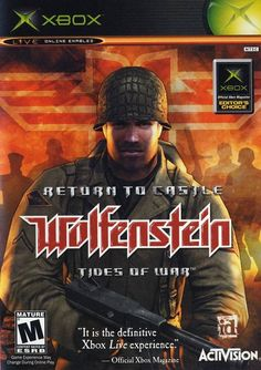 Return to Castle Wolfenstein: Tides of War  (Microsoft Xbox, 2003) USED
