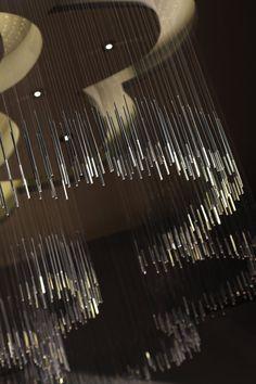 Contemporary Interior Restaurant Ceiling Decoration Design