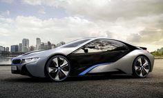 BMW unveils the production i8