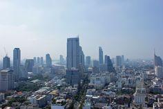 Silom skyline - Bangkok, Thailand