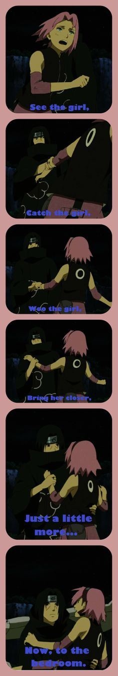 Get the Girl by Just4Sasuke.deviantart.com on @deviantART. Itachi/Sakura. ItaSaku.