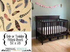 Hey, I found this really awesome Etsy listing at https://www.etsy.com/listing/222683338/multi-feathers-infant-or-toddler-fitted