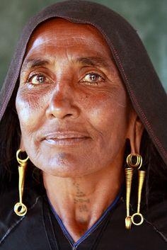 Rabari woman in Bhujodi village. India