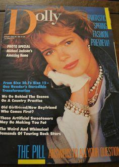 Dolly Magazine August 1984