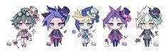Yuya, Yuto, Yugo, Yuri and Zarc
