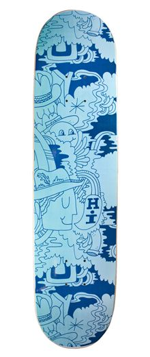 skateboard deck for Bordo Bello