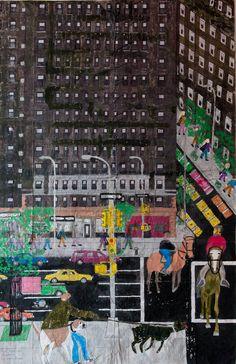 Black Building, New York City
