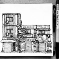 Osaka shop by @jlron | #blackworknow if you would like to be featured  Submissions/business inquiries blackworknow@gmail.com  Follow our pages @dotworknow @tempuradesign and @illustrationow