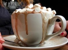 Creamy Nutella Hot Cocoa