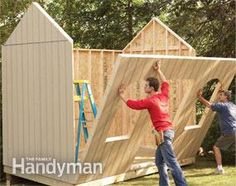 Printable plans and a materials list let you build our dollar-savvy storage shed and get great results.