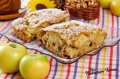 Healthy Apple Squares! Only 86 Calories | Moist and Delicious | Great Healthy Treat |For MORE RECIPES, Fitness and Nutrition Tips please SIGN UP for our FREE NEWSLETTER www.NutritionTwins.com @egglandsbest  #client