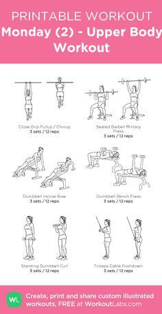 Monday (2) - Upper Body Workout
