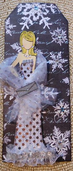Prima doll tag by Jan Byers