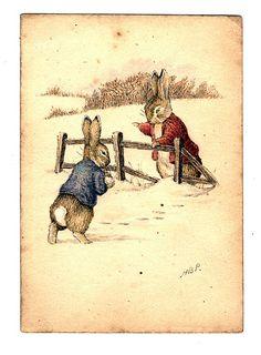 Peter Rabbit and Benjamin Bunny.   www.beststoriesforchildren.com