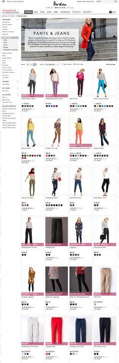 Boden - Women - Pants - model studio upper body, playful
