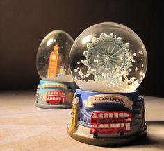 London Snow Globe by rickinzim, via Flickr