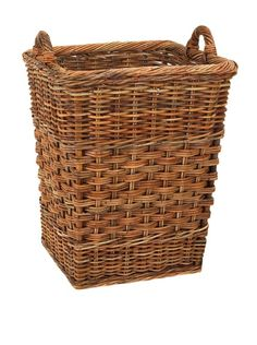 French Country Orchard Basket  The weave, material and styles is reminiscent of great baskets found in the European market places, handmade, solid construction with wonderful variations in coloring.