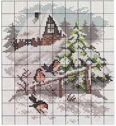 Winter Wonderland cross stitch Cross Stitch Quotes, Cross Stitch Letters, Cross Stitch Bookmarks, Cross Stitch Art, Cross Stitch Borders, Cross Stitch Designs, Cross Stitching, Cross Stitch Embroidery, Stitch Patterns